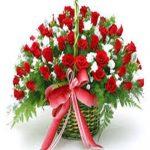 giỏ hoa hồng 1013