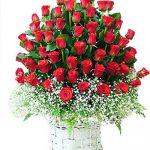 giỏ hoa hồng 1015