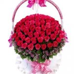 lẵng hoa đẹp 1033